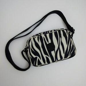 Kipling Zebra Print Mini Crossbody Bag